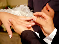 Wedding finger