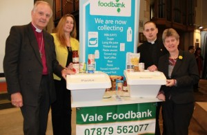Food bank opening (w)