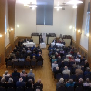 Hustings hosted by St Mary's Priory, Abergavenny