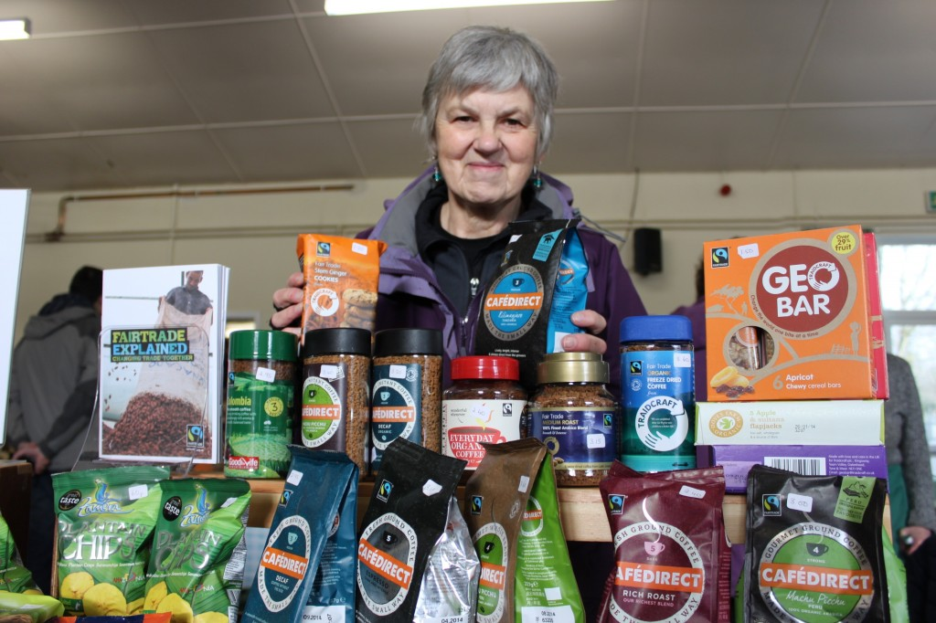 Ruth Prince, Fairtrade champion for Monmouth Diocese