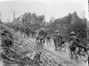 Somme cyclists