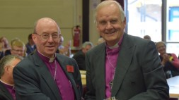 Bishop Wyn with Archbishop Barry (w)