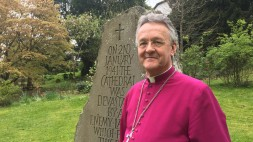 Bishop John Davies at Llanafff