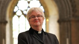 June Osborne at Llandaff Cathedral 4