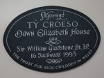 Ty Croeso sign sm