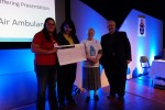 Wales Air Ambulance cheque presentation