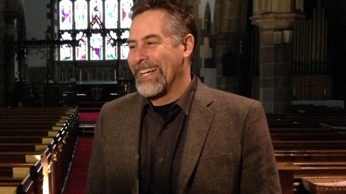 Mark Yaconelli in St Collens Llangollen for feature image