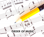 order of music