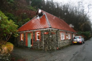 The church hall is called Ysgoldy Goch for obvious reasons...