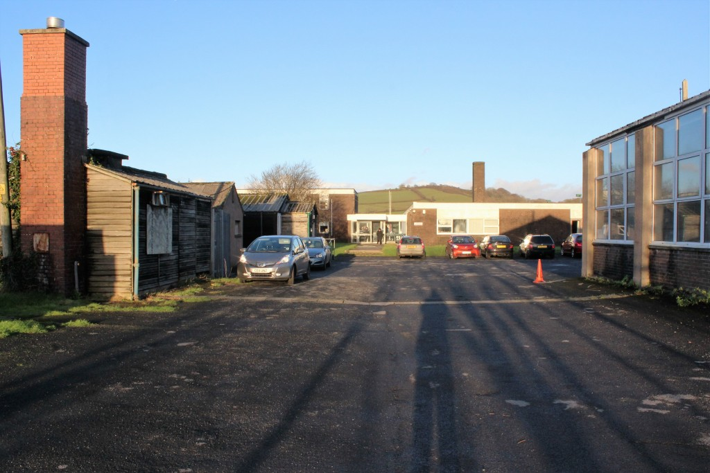 Back in Ferryside, they are restoring the Education Centre...