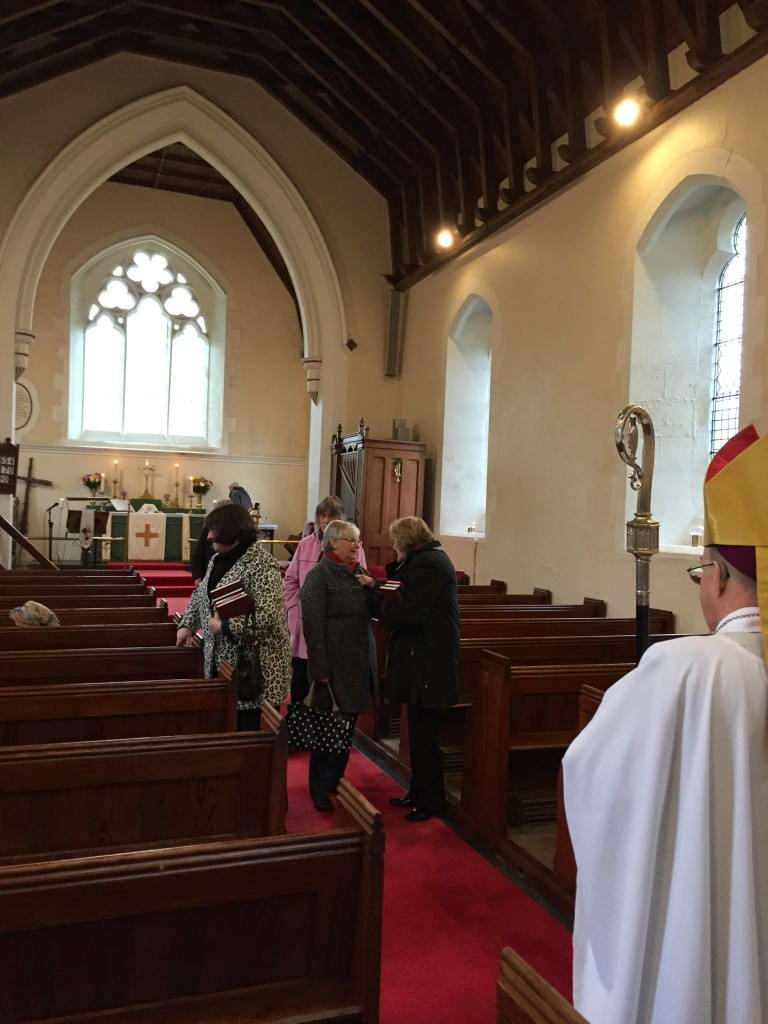 ...but the welcome for the Eucharist in St Cristiolus' was as warm as any...