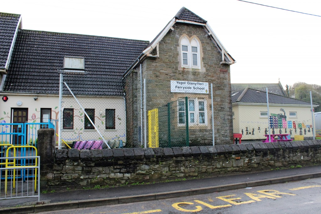 First stop, the village school
