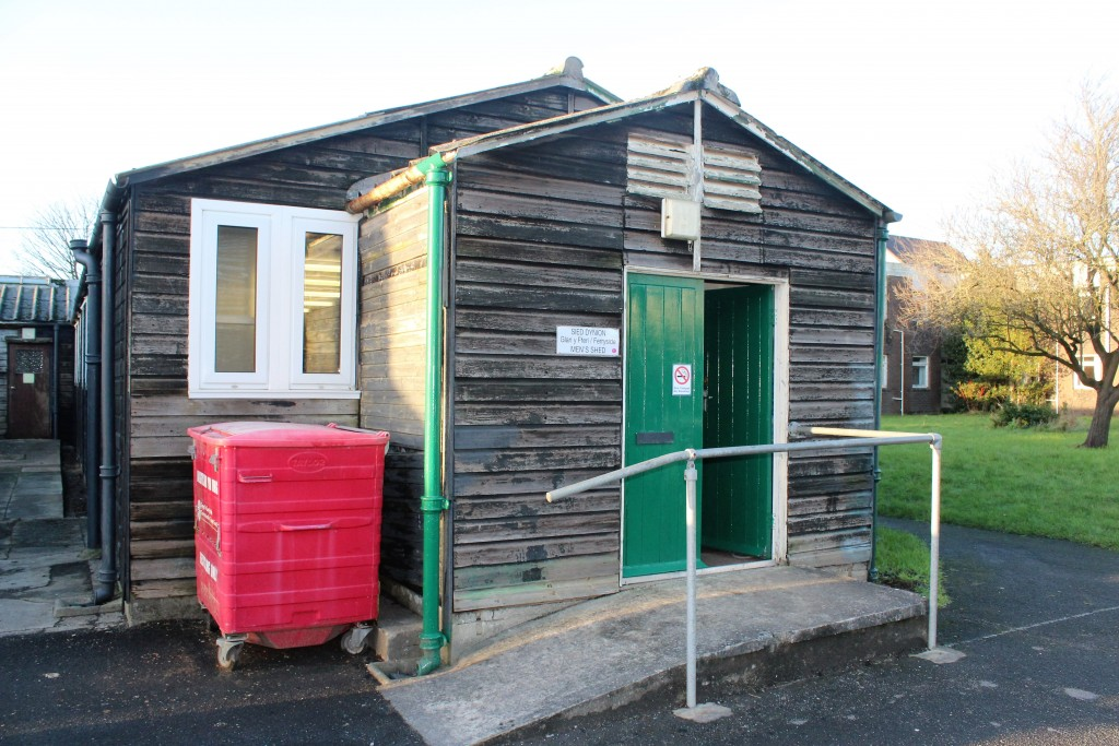...home to the Men's Sheds project