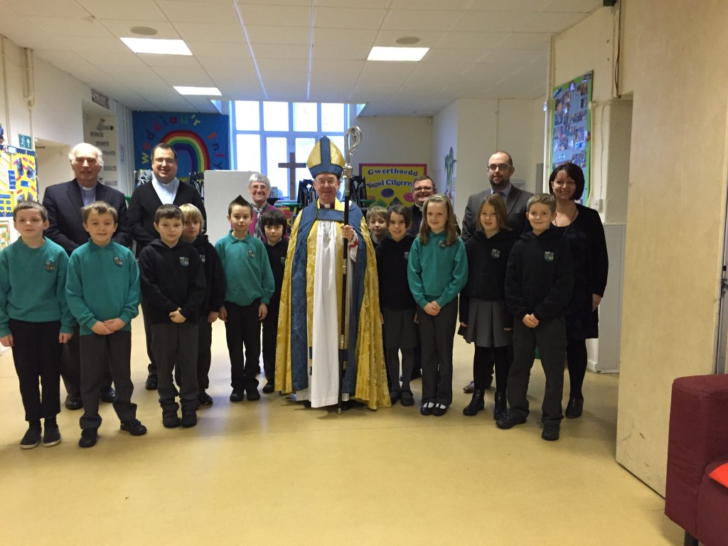 With Year 6 and the Governors