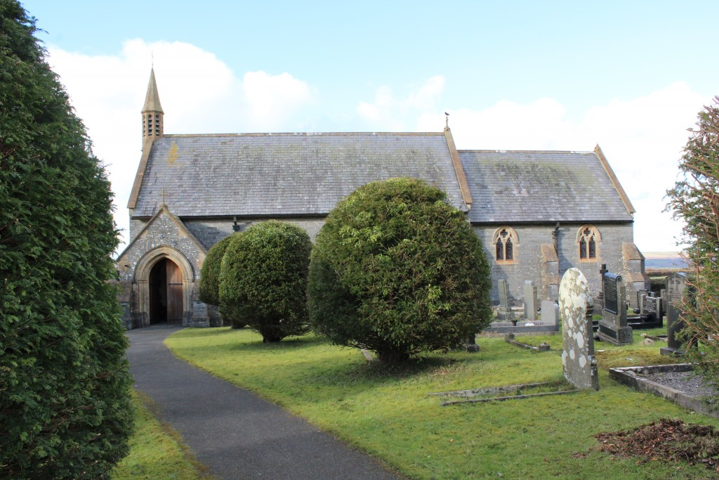 The day ends with Evening Prayer at St David's, Carregwen