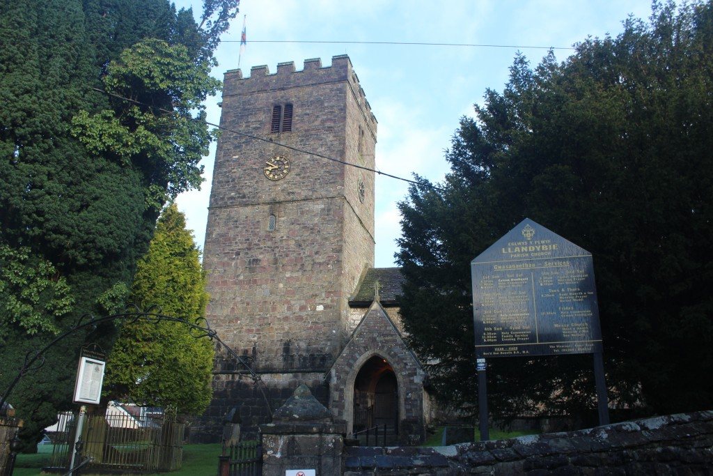 St Tybie's is the venue for the Eucharist