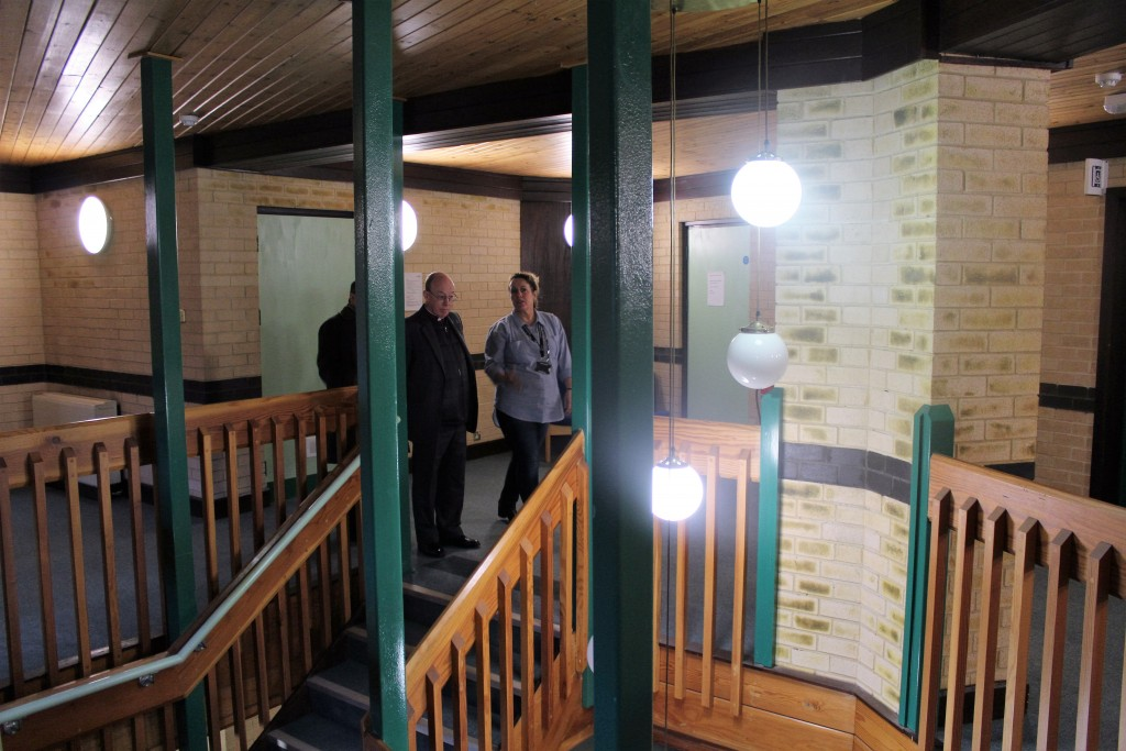 A tour of the building