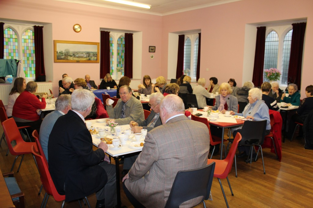 ...and a parish lunch.