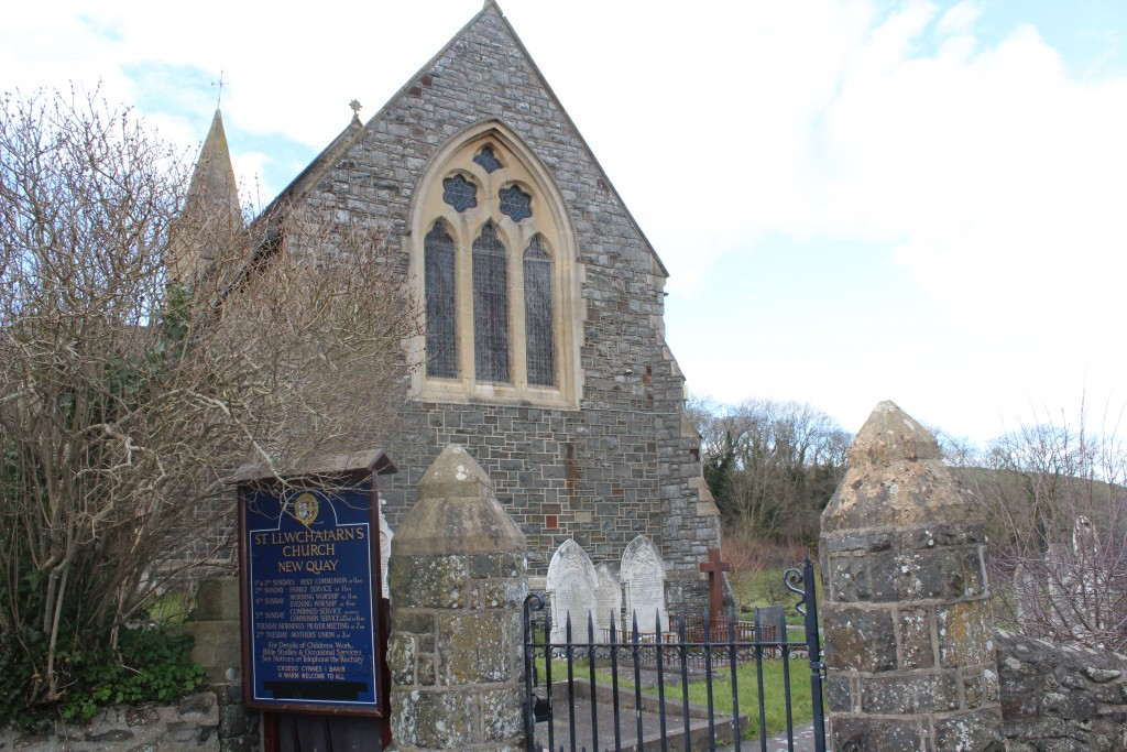 St Llwchaiarn's is the eponymous parish church