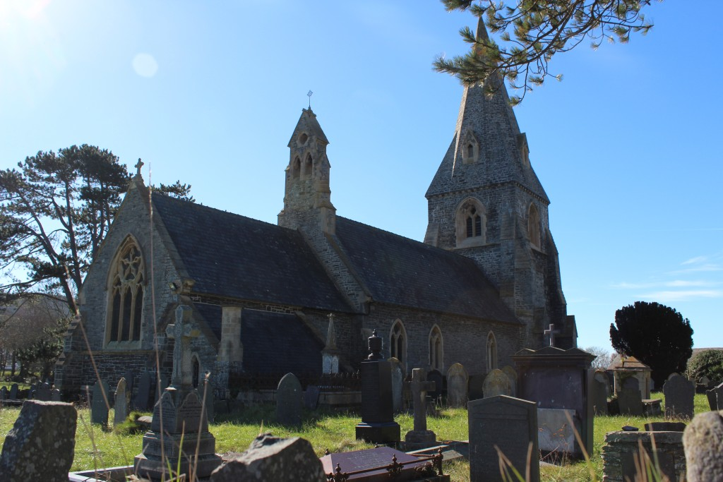 Llanrhystud church bears the name of St Restitutus...