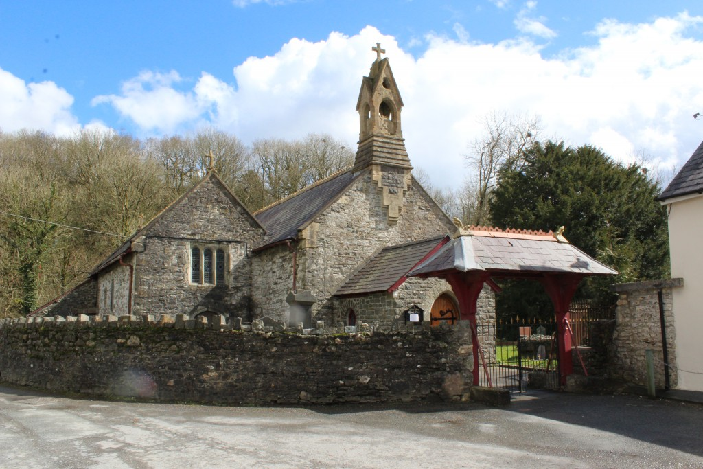 The service is at St Cynwyl's
