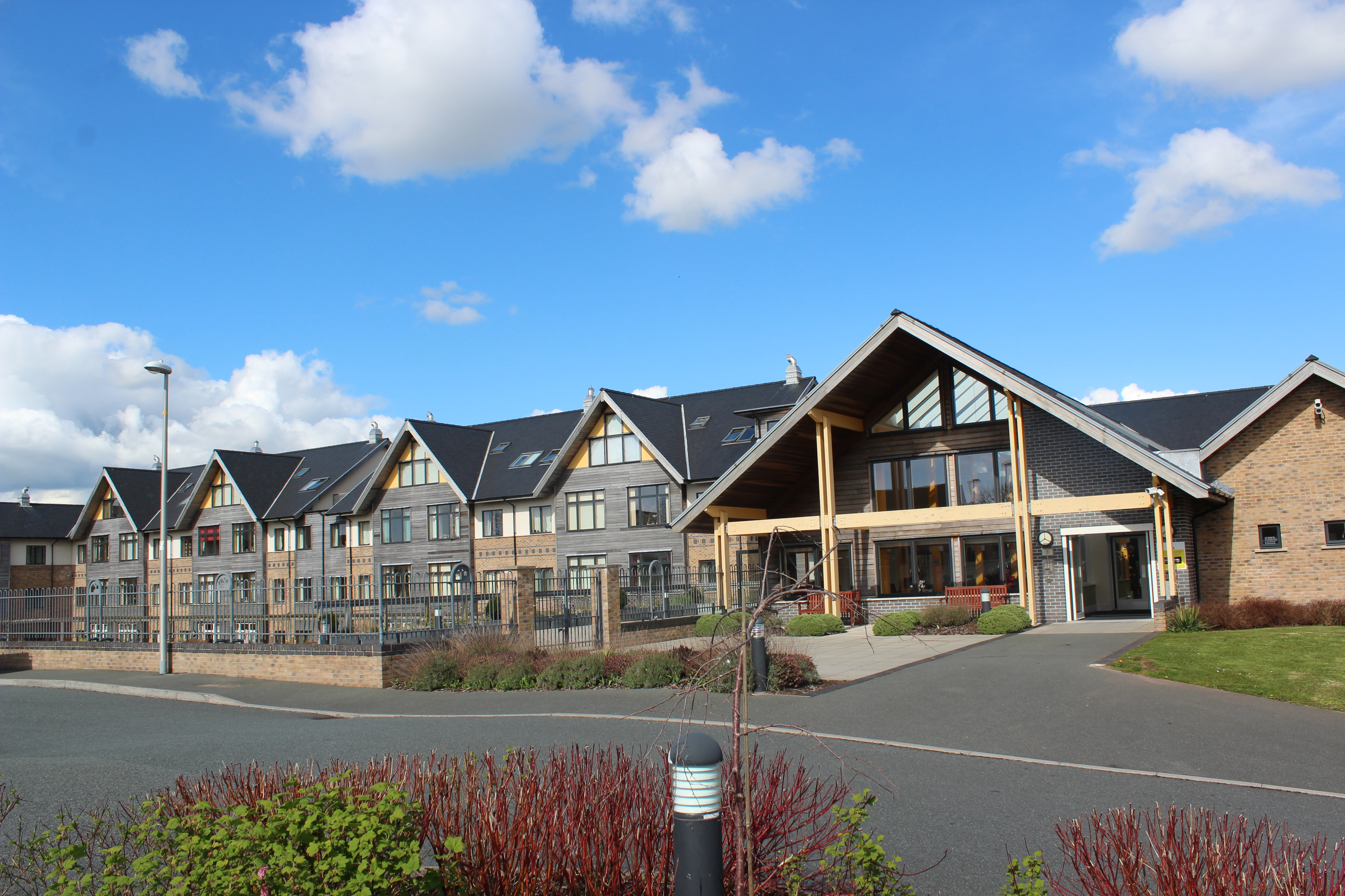 Kensington Court is a state-of-the-art sheltered housing development