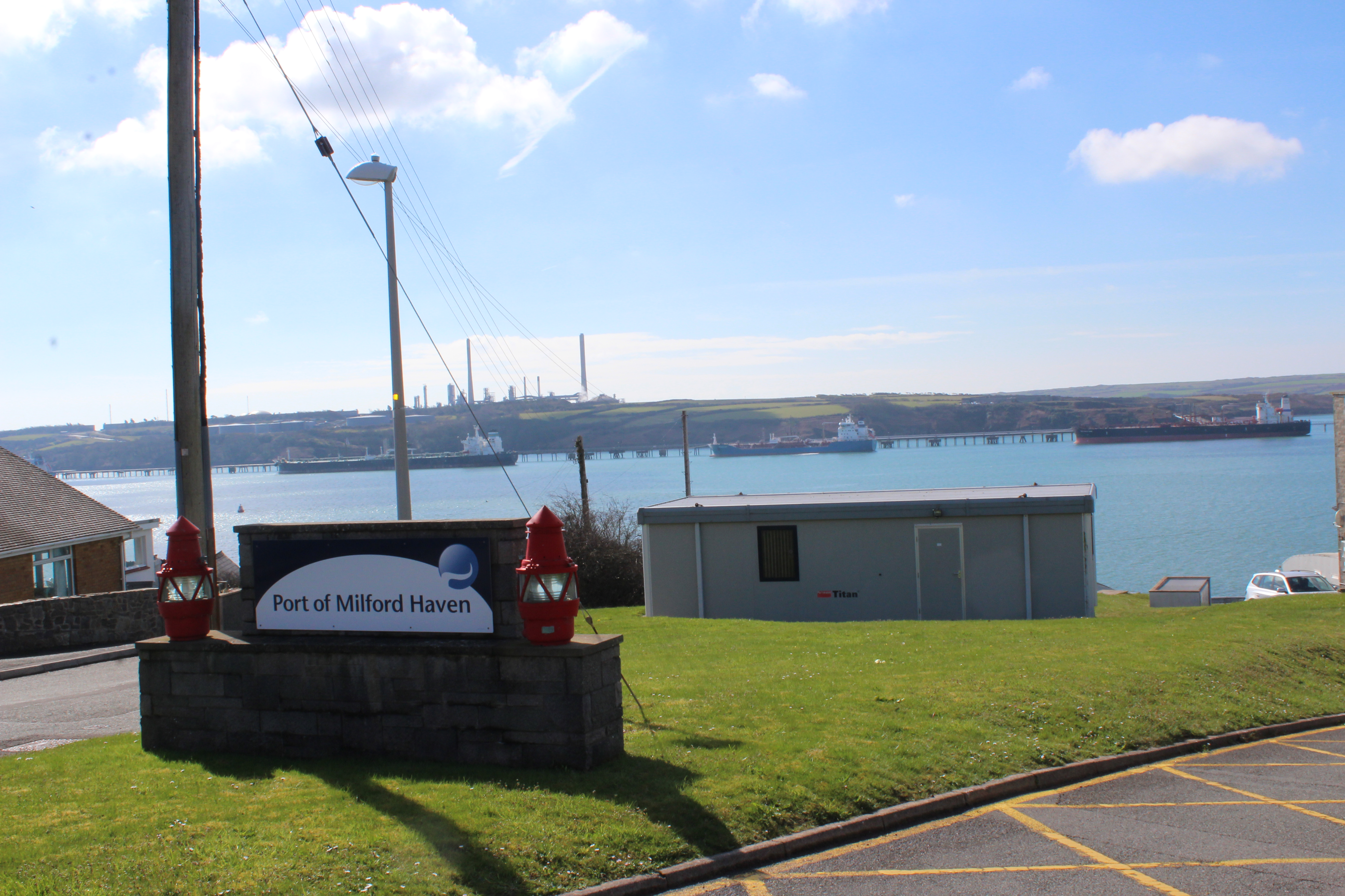 """Admiral Nelson described Milford Haven as """"the finest port in Christendom"""""""