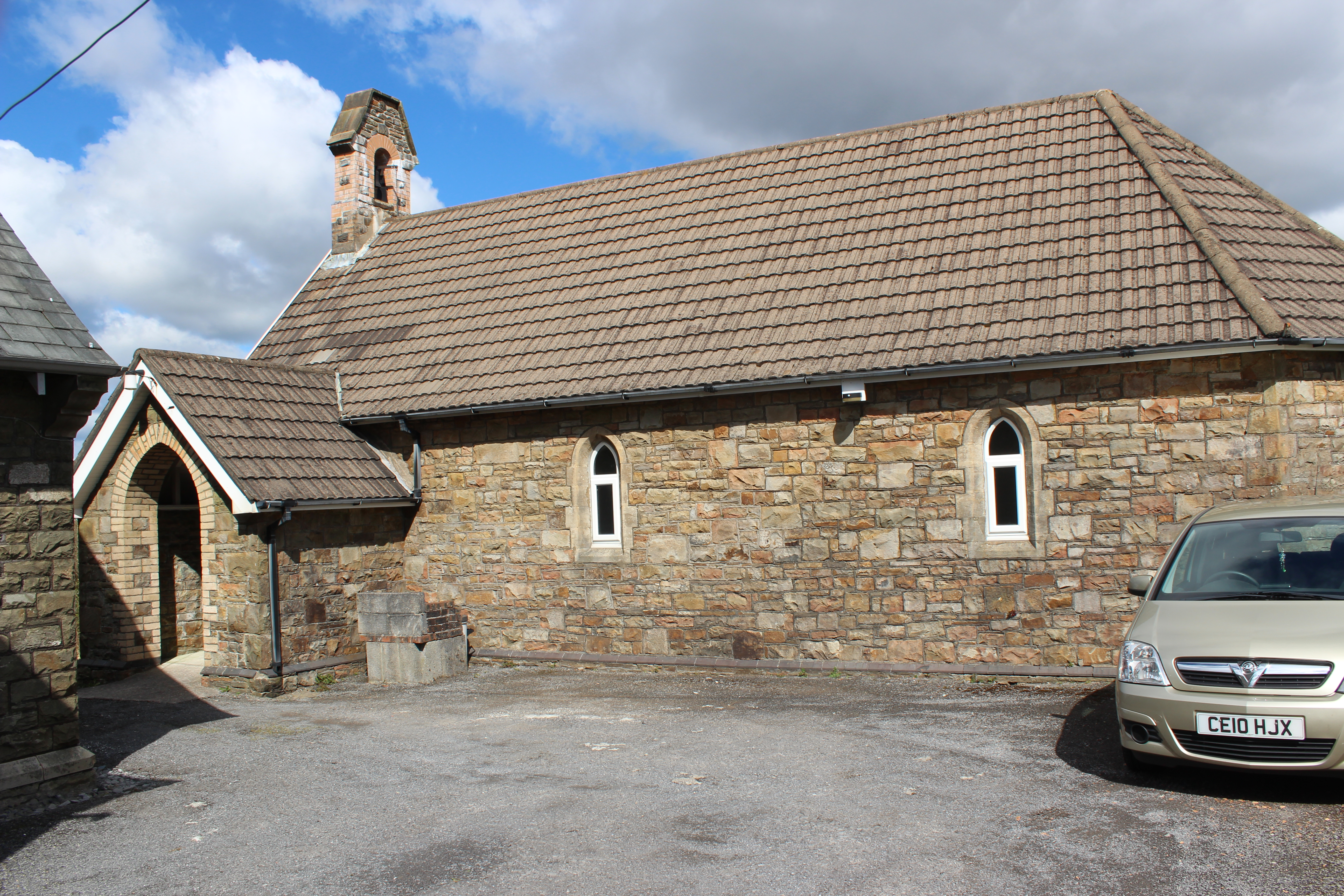 St Sulien's is tucked away in a quiet corner of the village of Tumble
