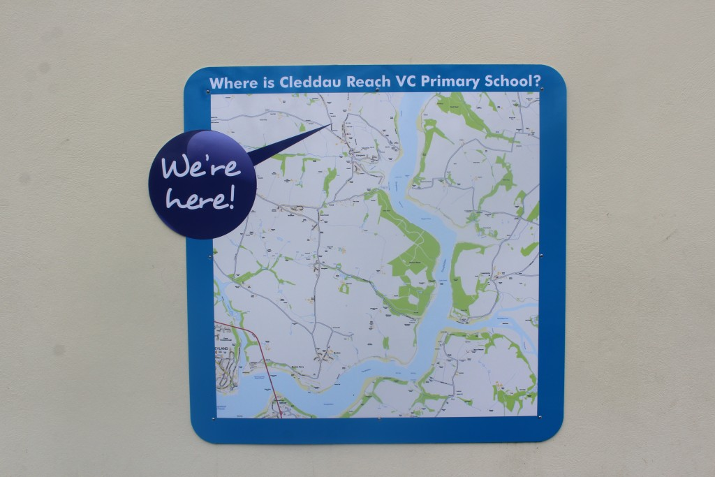 'Here' is Cleddau Reach