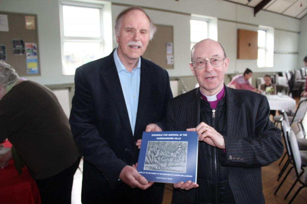 A copy was presented to the Bishop on a visit...