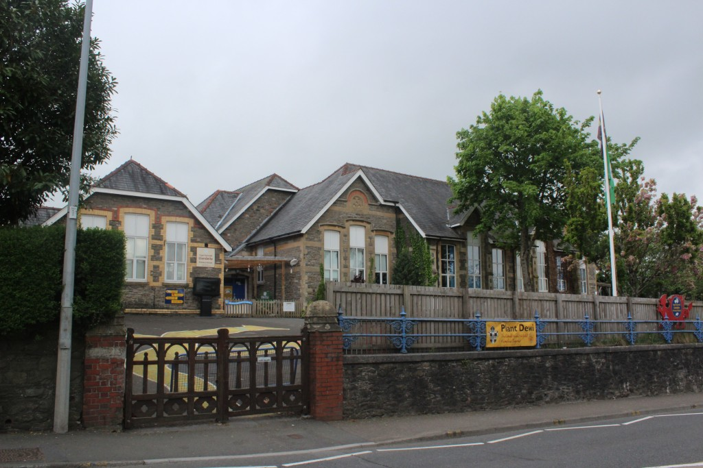 The community school is in the main street