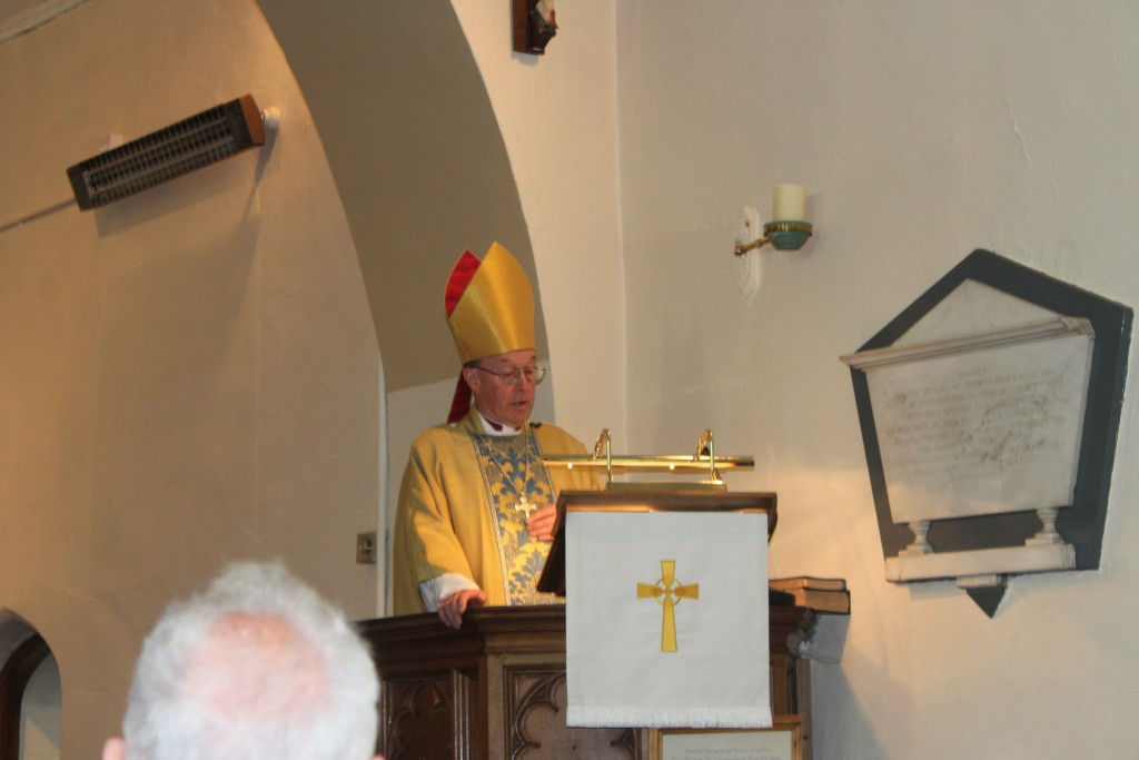...and a word from Bishop Wyn