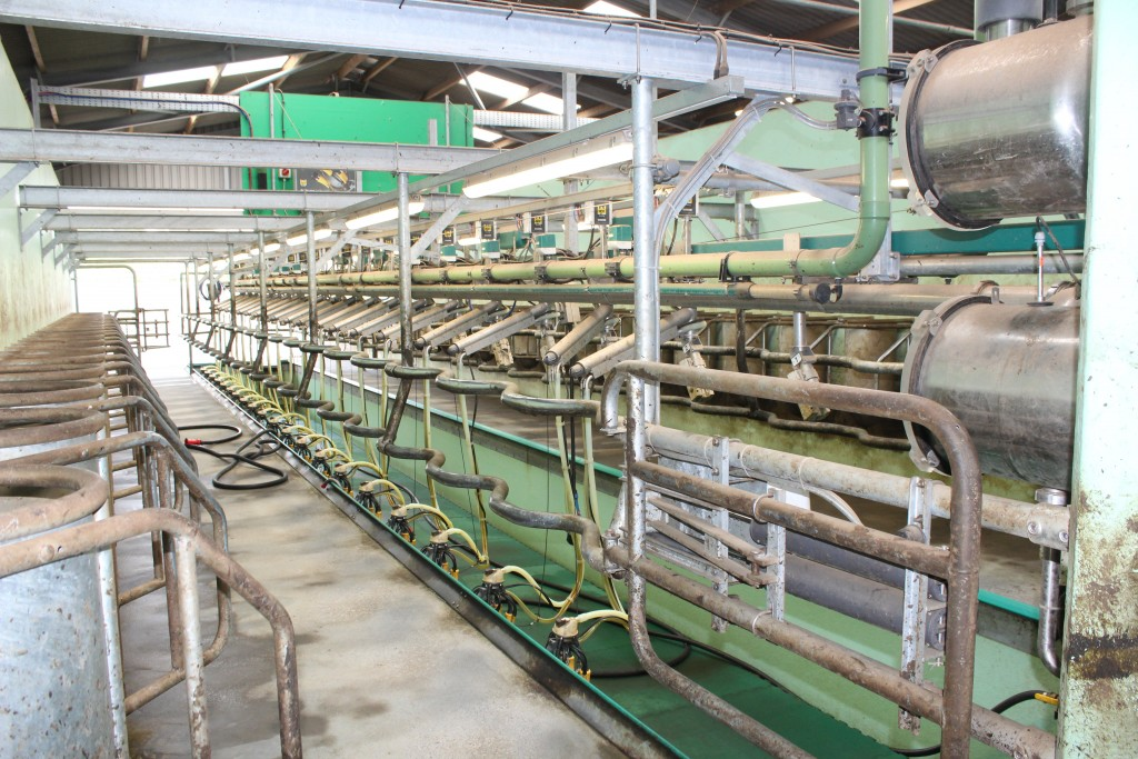 A new state-of-the-art milking parlour has recently been installed