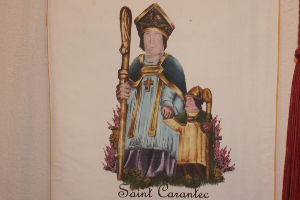 is dedicated to St Carannog, Carantec is what the Breton s call him