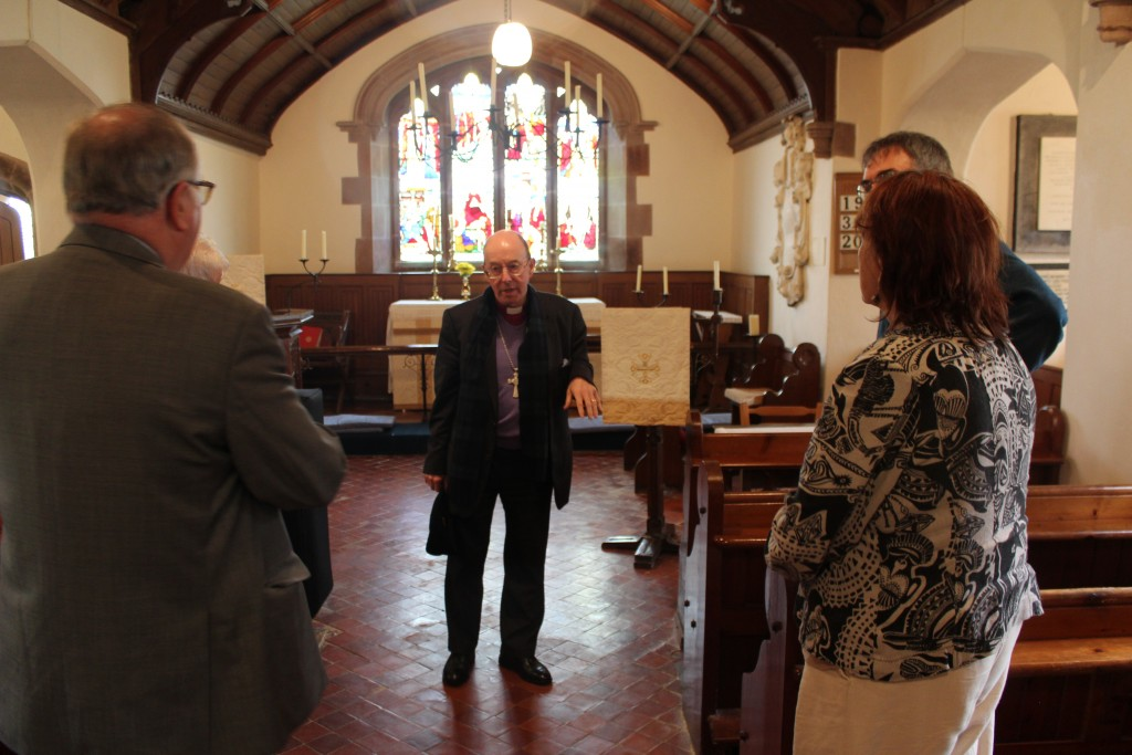 Today's congregation is small, but proud of its heritage
