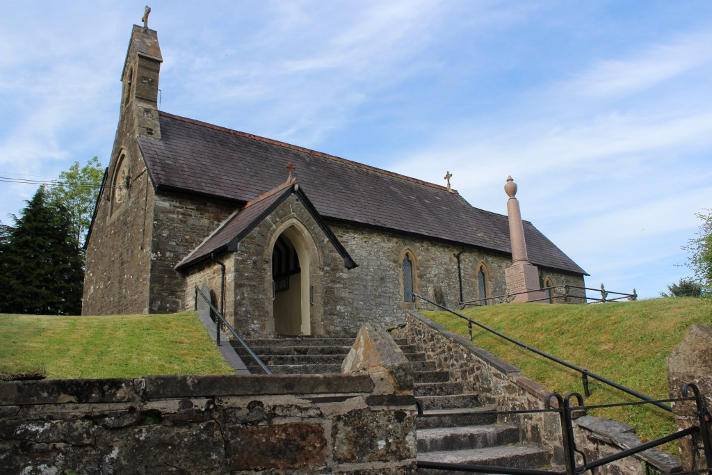 The service is held at Abergorlech