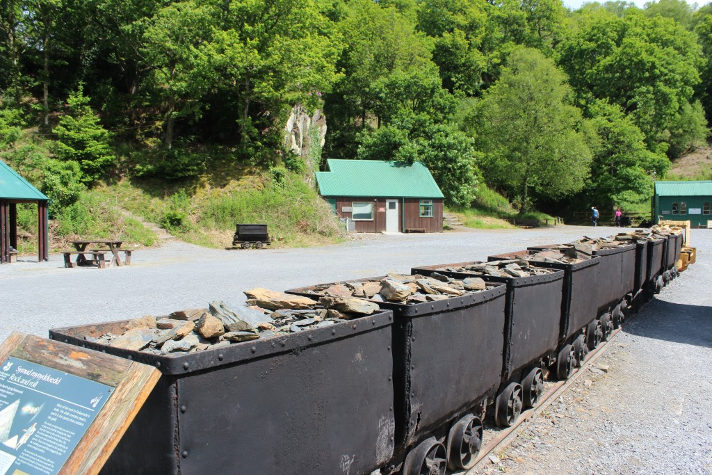 The Dolaucothi gold mine was first set up by the Romans