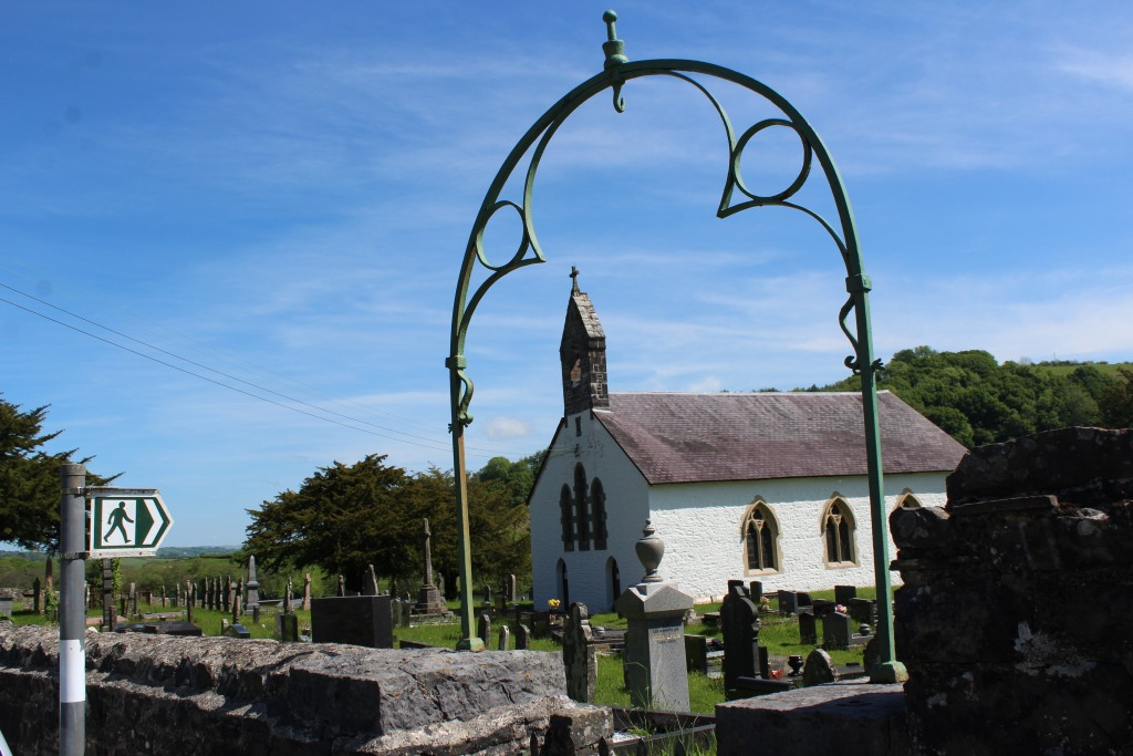 St Michael & All Angels Church in Talley...
