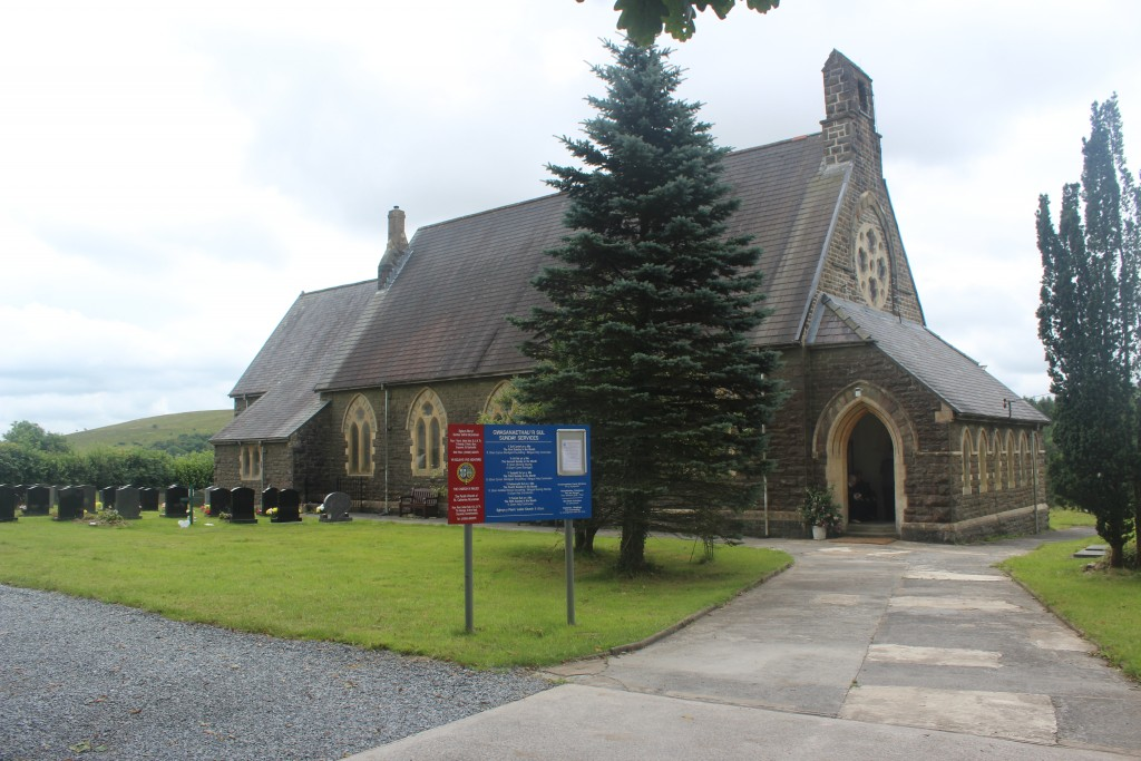 Then to St Catherine's for the service
