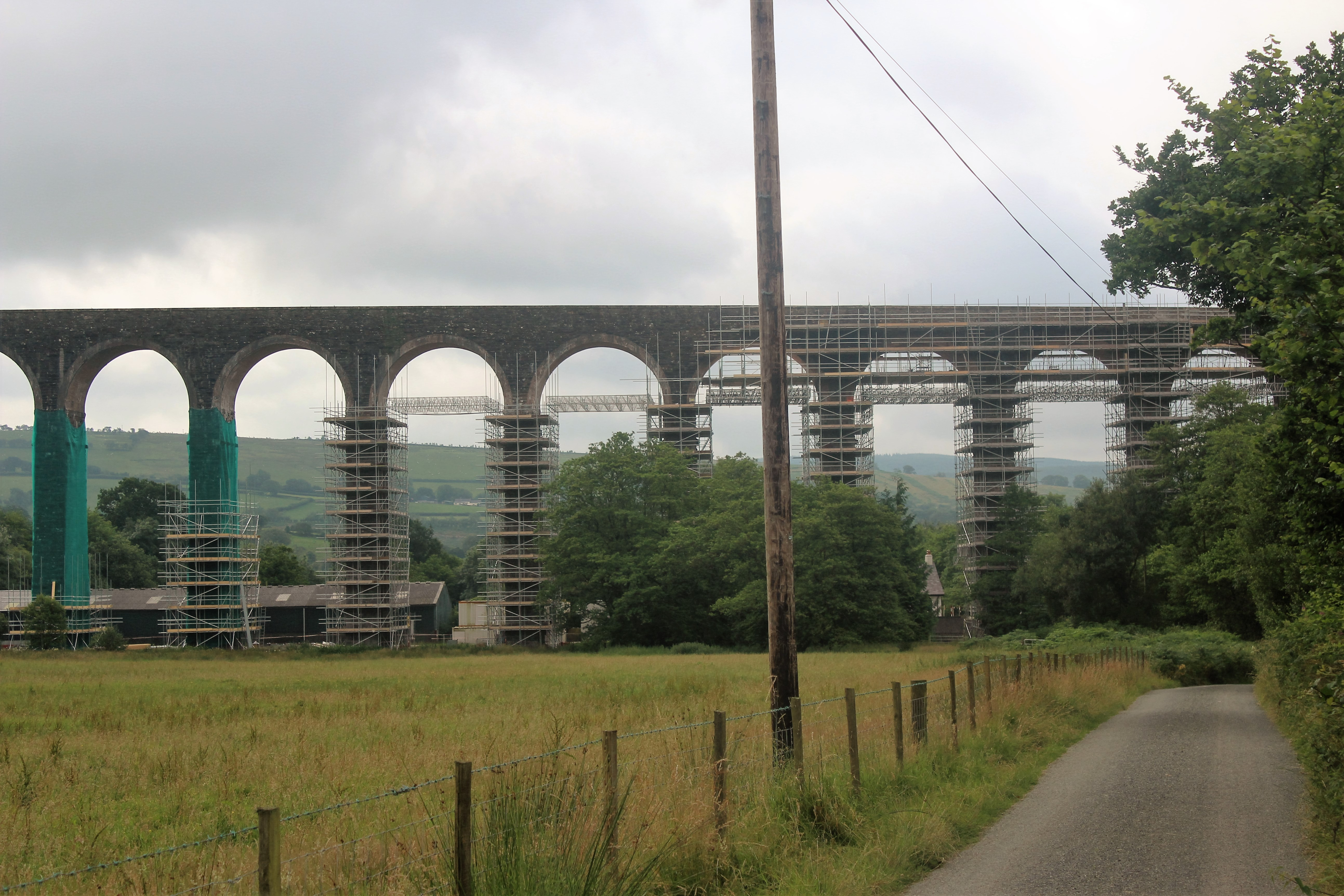 Cynghordy Viaduct. on the Heart Of Wales line...