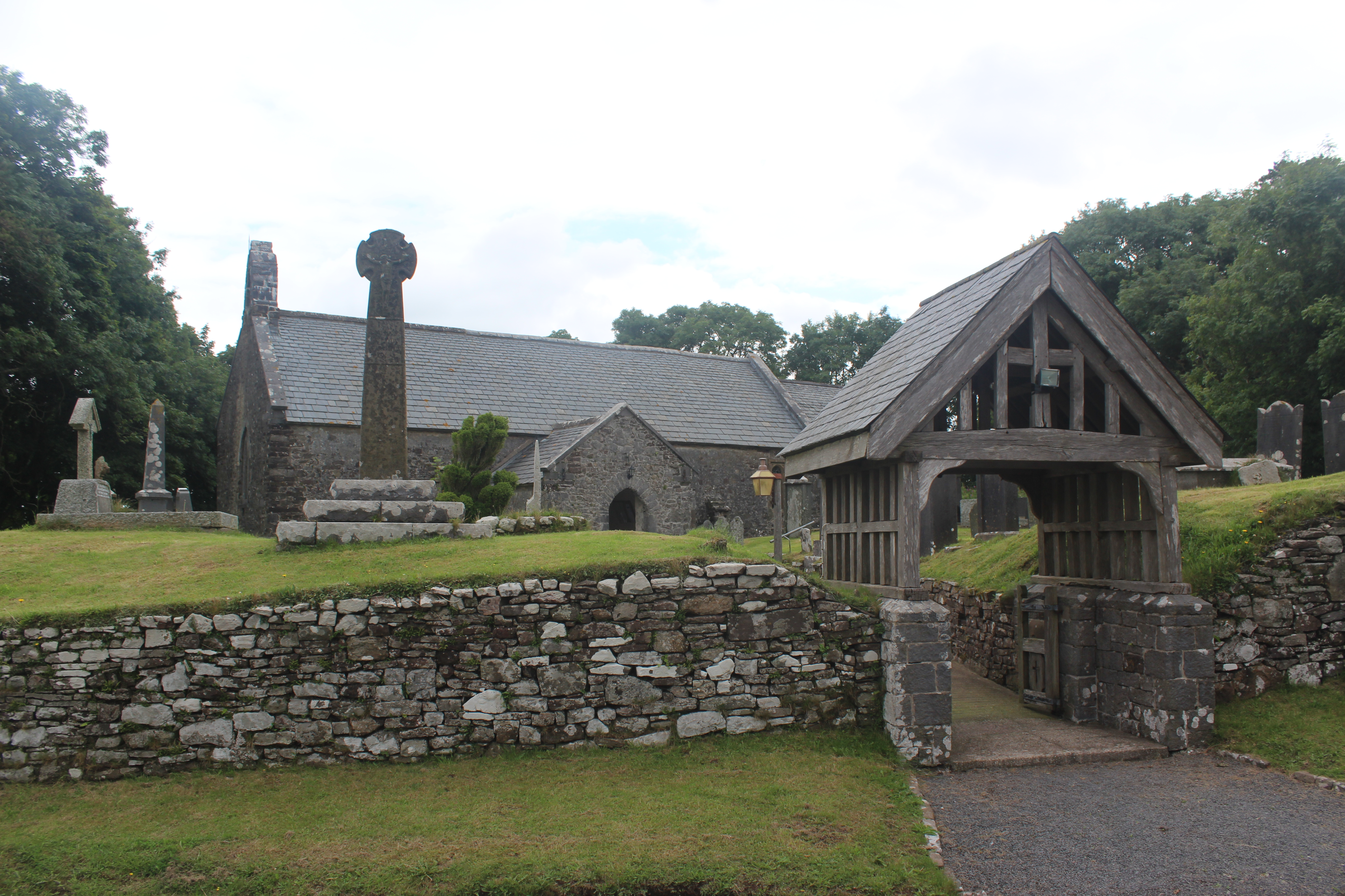 Our service was at St Margaret';s, Eglwys Gymyn
