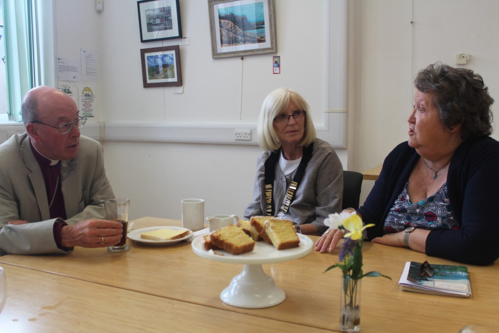 A meeting with local councillors