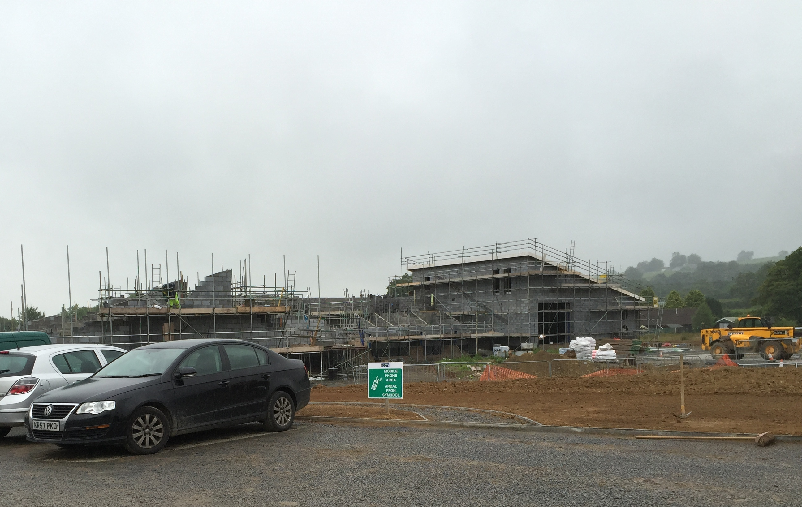 Meanwhile, they're building a new superschool in Drefach