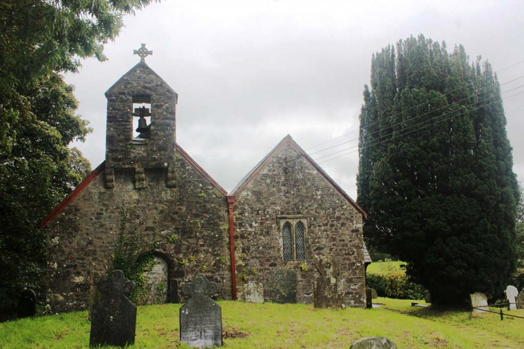 St Mary's, Bletherston used to be part of the parish