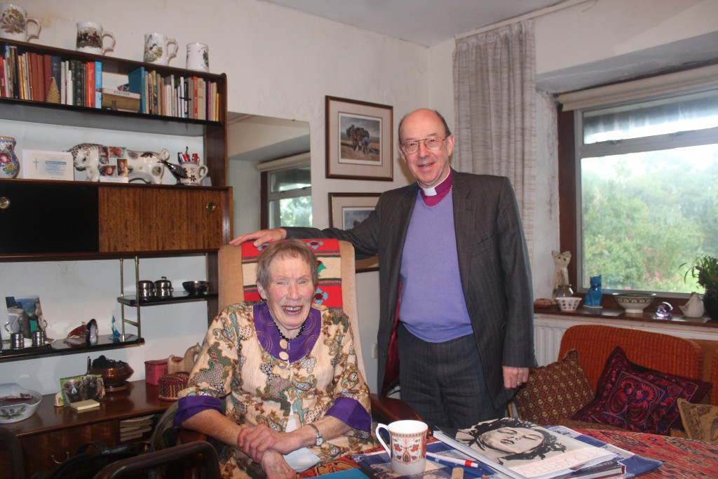 Nan Warlow has been a pillar of the community for many years