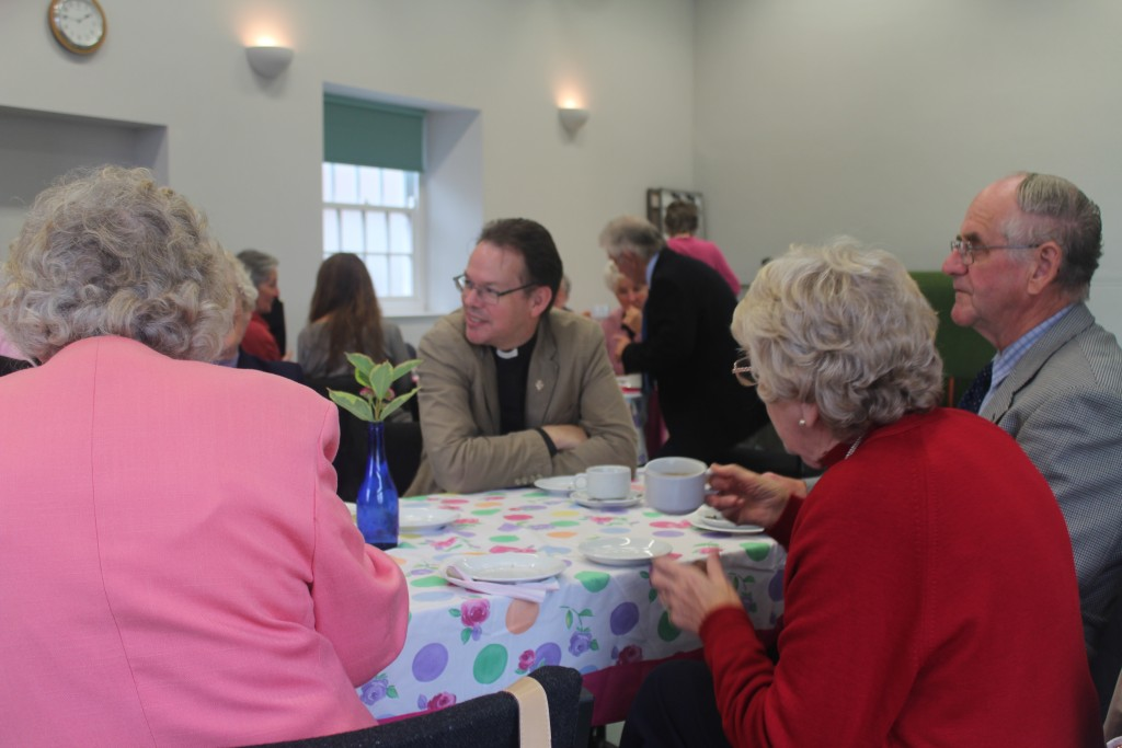 ...a chance for clergy and congregation to catch up
