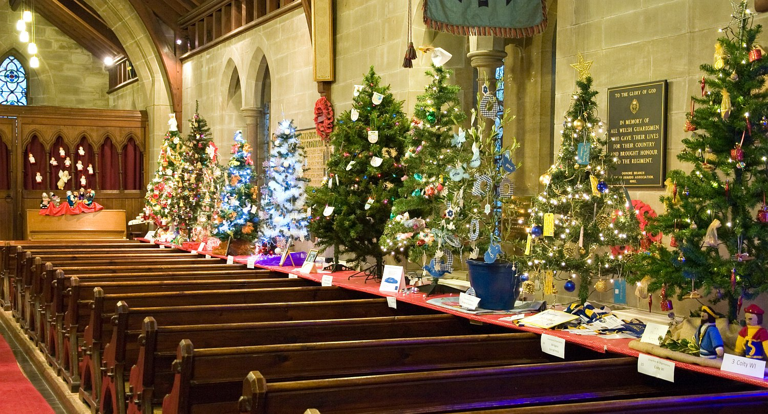 Churches throw open their doors for Christmas tree ...