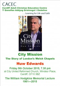 Huw Edwards Poster