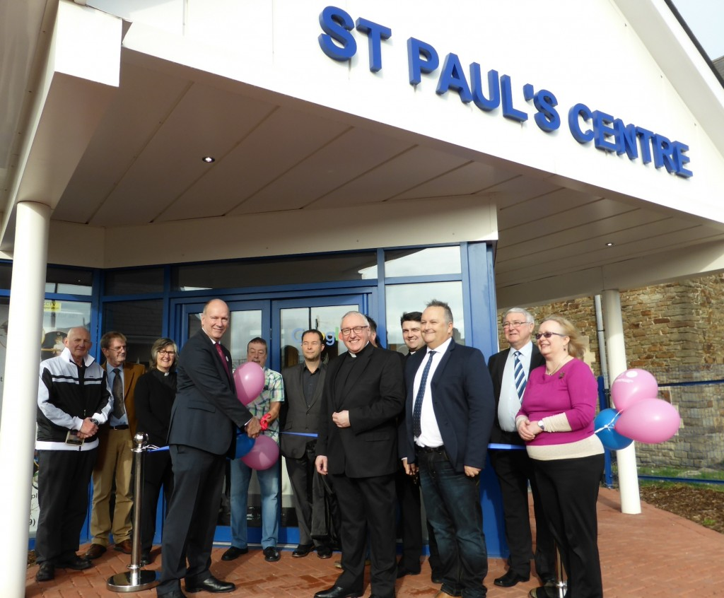 St Paul's Centre opening