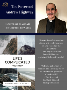 'Life's Complicated Pray Simply' Book Poster